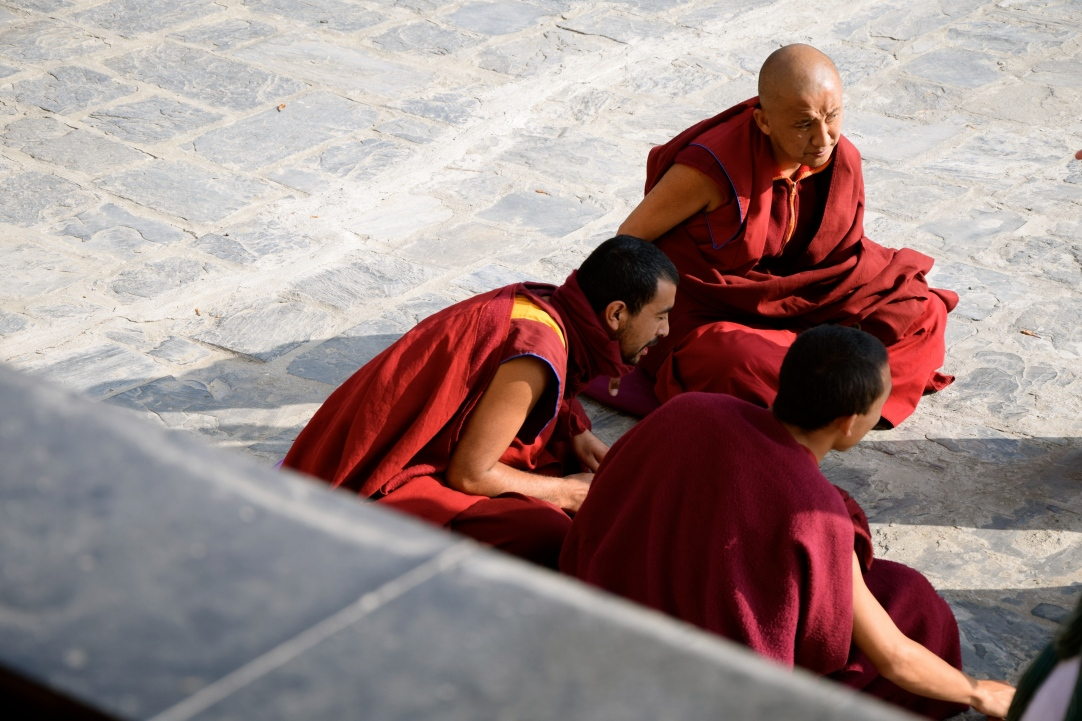 Debating Monks, Nepal, 2017
